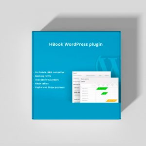 Plugin Wordpress Premium: Hbook - Sistema Reserva de hotel, hostel