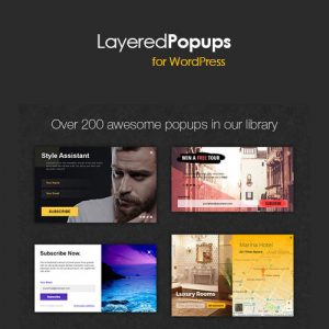 Plugin Wordpress Premium: Layered Popups - Ventanas emergentes