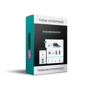 Plantilla Woocommerce Theme Premium Neighbordhood