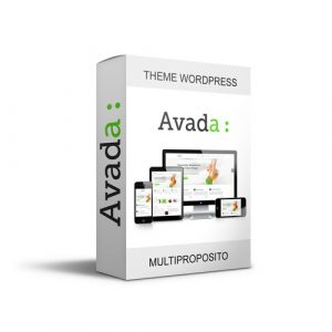 Plantilla Wordpress theme premium - Avada