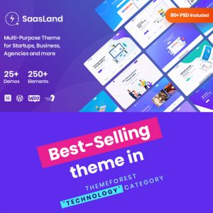 Plantilla Wordpress theme premium - Best-selling-Agencias, Starups,Negocios