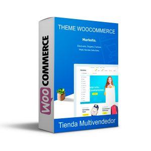 Theme Wordpress Multivendedor - Marketo Premium