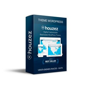 Plantilla Wordpress Theme Premium Houzez