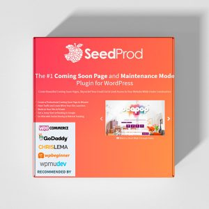 Plugin Premium Wordpress: Seed Pro - Coming Soon - Página en construcción