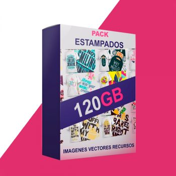 Pack 120 GB Estampados